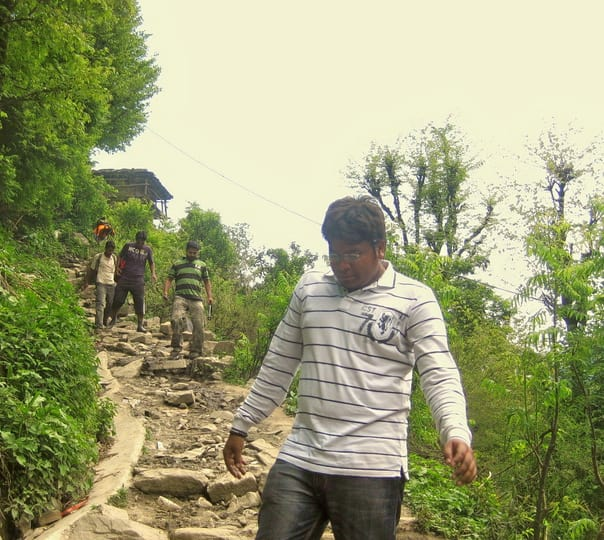 Trek to Malana in Kasol