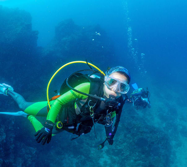 Scuba Diving at Grande Island in Goa