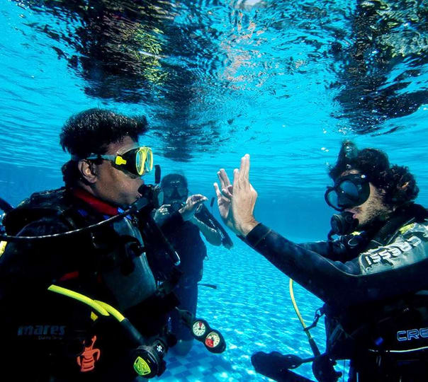 Open Water Diving Course with Stay in Colombo