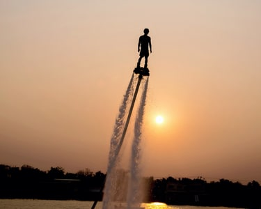 Flyboarding at Morjim, Goa - Flat 17% Off