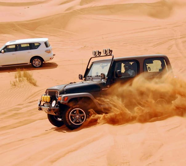 Jeep Safari in Jaisalmer