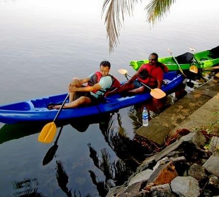 Kayaking Experience, Nileshwaram, Kasaragod