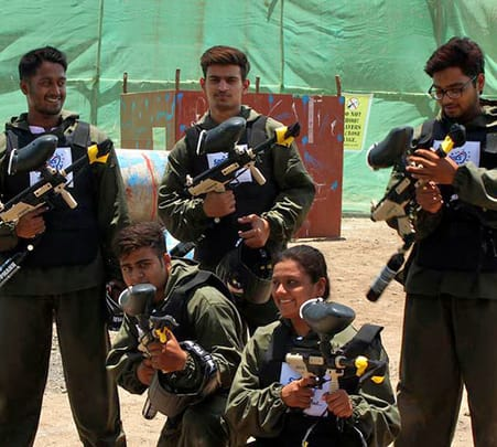 Paintball Experience in Pune - Flat 25% Off