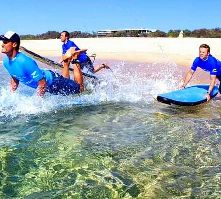 Surfing Experience at Byron Bay