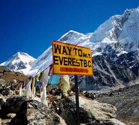 Everest Base Camp Trek, Nepal 2017