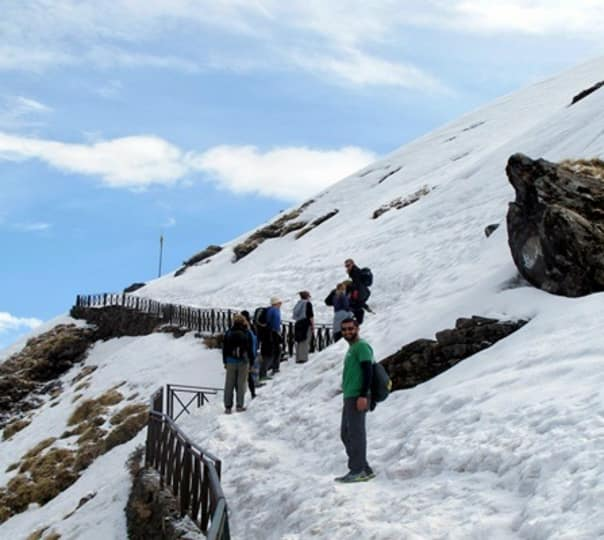 Snow Trek to Deoria Tal and Chandrashila Peak, Uttarakhand 2017