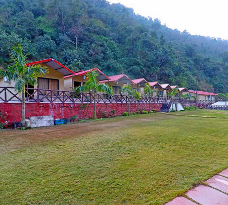 Camping in the Footstep of Mountains in Rishikesh