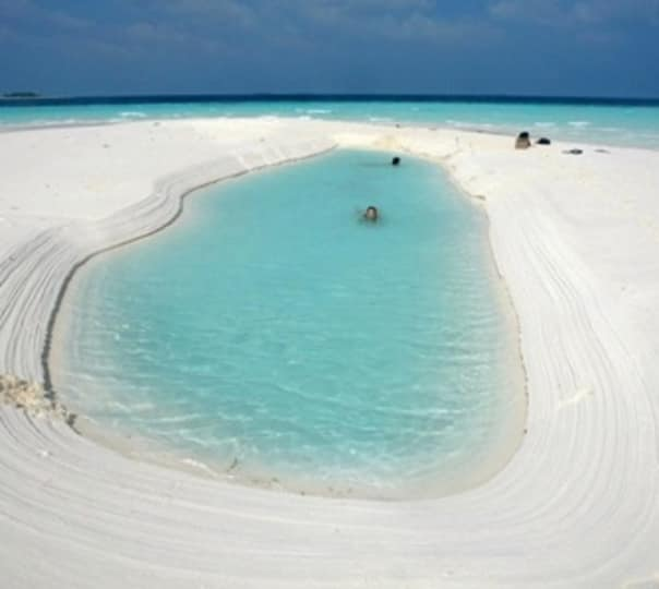 Visit Sandbank in Maldives
