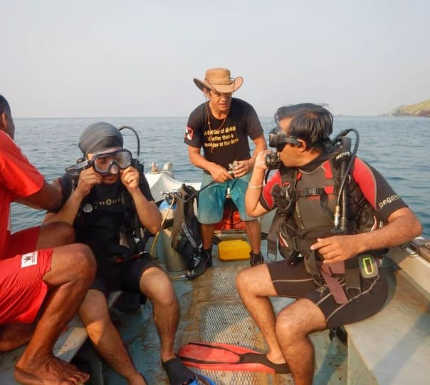Rescue Diver Course in Goa
