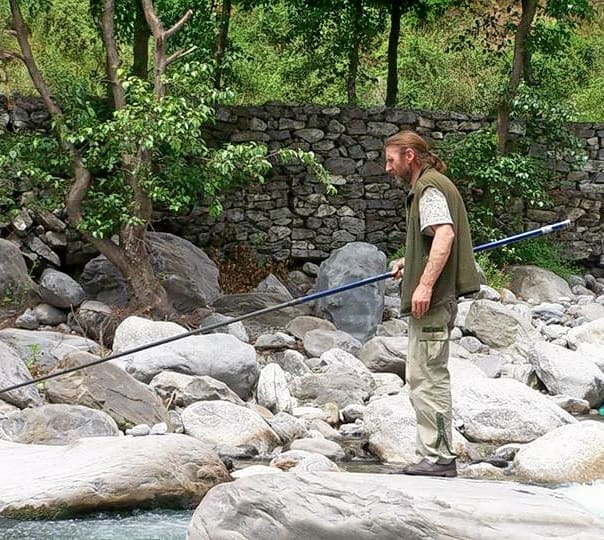 Fishing Trip at Haripur in Manali