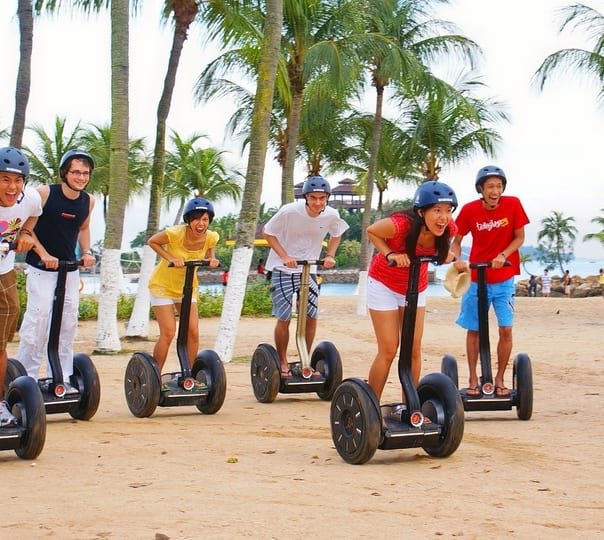 Gogreen Segway Ride in Singapore