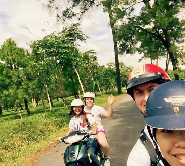 Hue City Motorbike Tour in Vietnam
