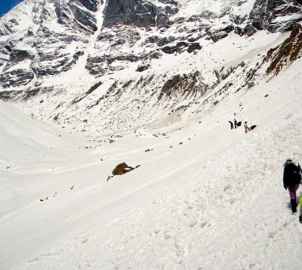 Panpatia Glacier Trek, Uttarakhand 2018