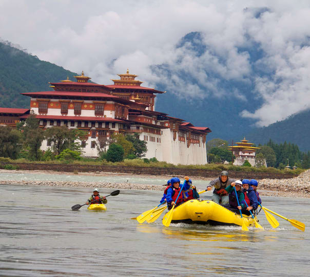 Bhutan Rafting & Hiking Tour