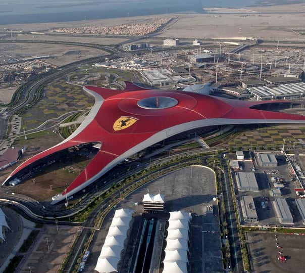 Full Day Ferrari World Tour from Dubai
