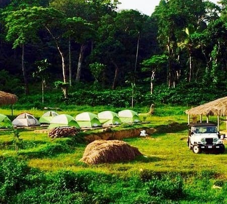 Coleman Camping Adventure in Coorg