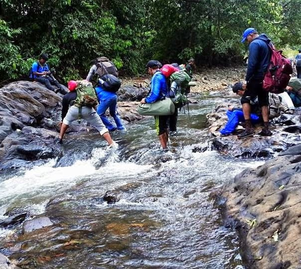 Trek to the Tumbi Surla Waterfall