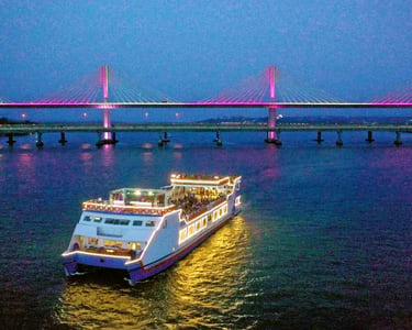 Mandovi Boat Cruise with Dinner | Book @ 1380 Only