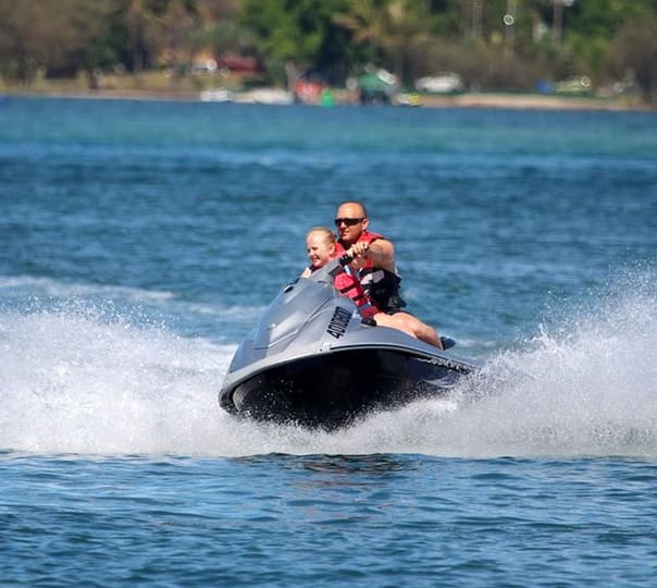 Jet Ski, Parasailing and Flyboarding in Goldcoast