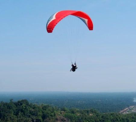 Tandem Parachute Skydiving at Kuala Lumpur