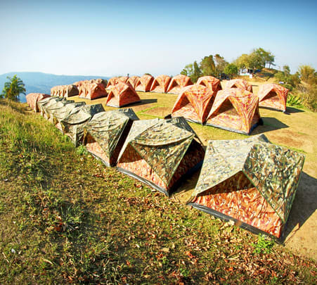 Trekking and Camping in Salkanpur near Bhopal