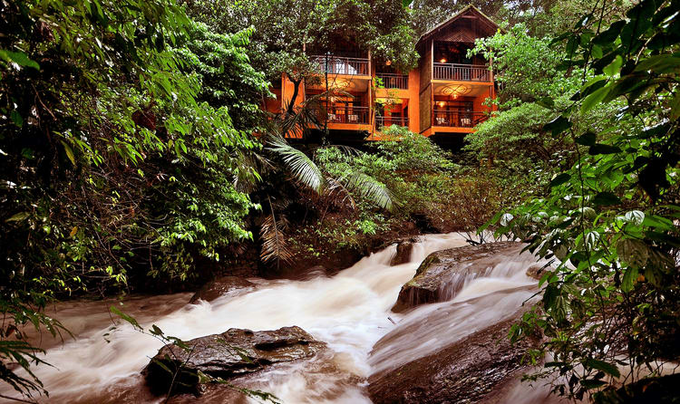 There Are Many Luxury Resorts In Wayanad Among Them The Vythiri Resort Is Located Amidst Cool Tropical Rainforest Of S Own Country