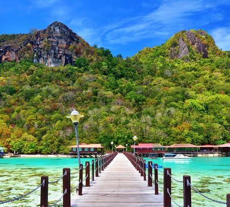 Survivor Island & Pulau Tiga Day Tour, Sabah @ Flat 15% off