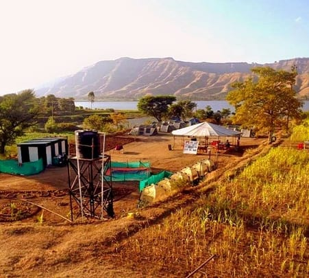 Weekend Riverside Camping near Pune