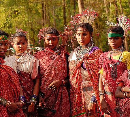Chattisgarh Tribal Tours with Sightseeing Tour of Delhi