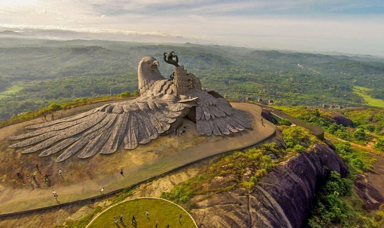 Go To Jatayu Nature Park, Kollam