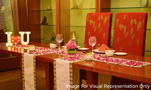 Dinner delhi in candlelight private Experience Private