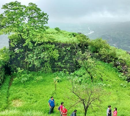 Trekking at Sudhagad Fort Trek