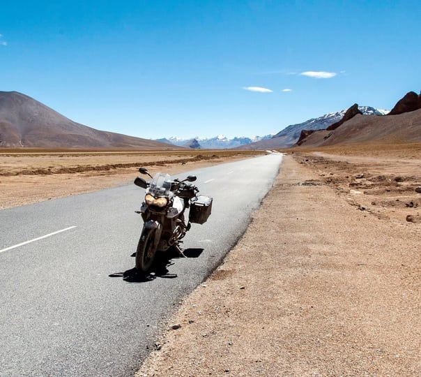 Motorcycle Tour at Spiti in Himachal