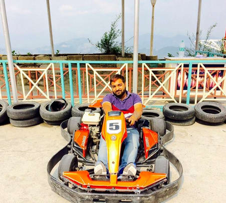 Go-karting Activity at Adventure Resort New Kufri