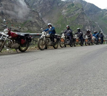 Bike Tour from Manali to Spiti