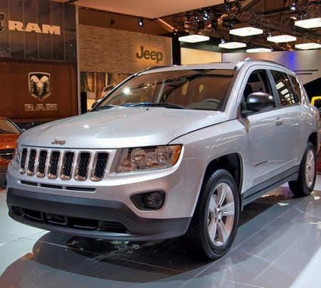 Rent a Jeep Compass in Delhi