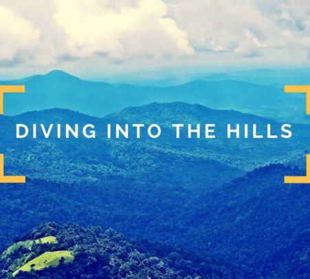Trek to Nishani Motte Hills in Coorg