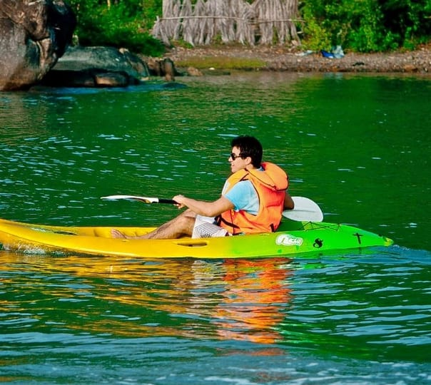 Kayaking Excursion at Aguada River in Goa