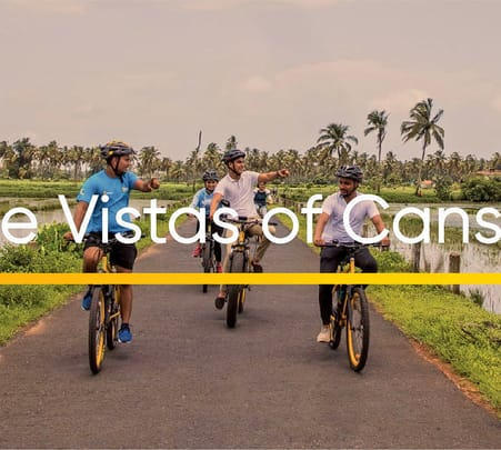 E-biking Tour in Cansaulim Village
