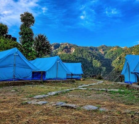 Camping with Waterfall Trekking in Shimla