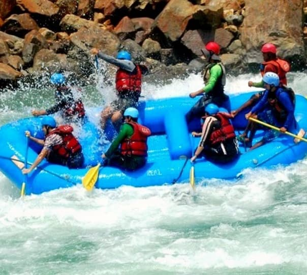 5 Days / 4 Nights Alaknanda River Rafting Expedition, 2017