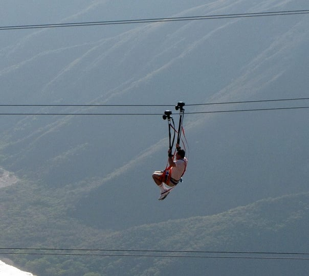 Cable Rides / Ziplining at Pattaya in Thailand