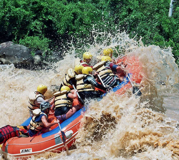 White Water Rafting at Padas River at Sabah