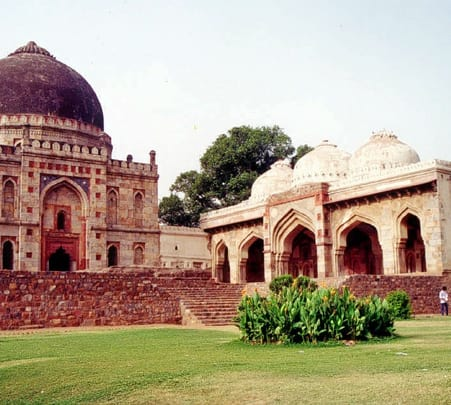 Walking Tour at Lodhi Garden in New Delhi