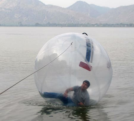 Water Zorbing in Alwar