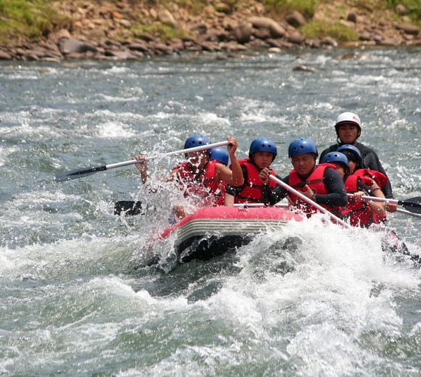Kiulu River White Water Rafting Expedition in Malaysia