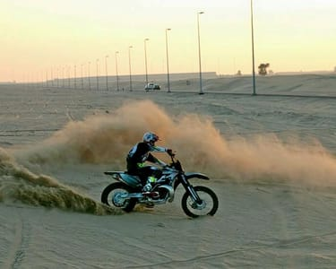 Dirt Biking in Dubai