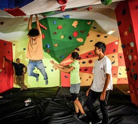 Experience Indoor Wall Climbing in Bangalore For 12 Days