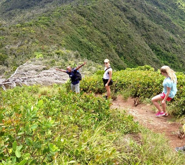 Mountain Hiking to Le Pouce Mountain in Mauritius