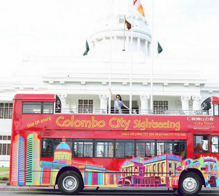 Colombo Heritage Tour by Open Deck